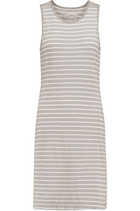 CURRENT/ELLIOTT Louella printed cotton mini dress