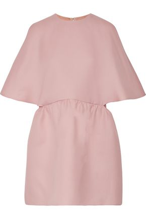 VALENTINO Silk-gazaar mini dress
