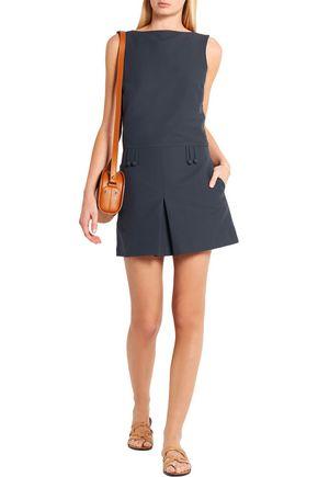 TOTÊME Padua cotton-blend faille mini dress