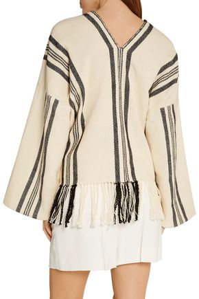 APIECE APART Fringed cotton top
