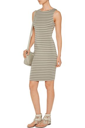 TART COLLECTIONS Lindy striped stretch-modal dress