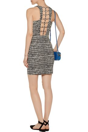 TART COLLECTIONS Faye cutout printed modal-blend mini dress