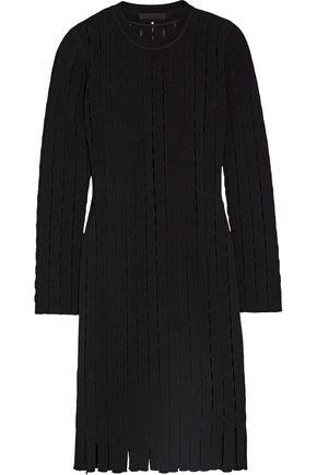 ALEXANDER WANG Cutout stretch-knit dress