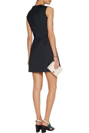 RAOUL Tressa cotton-blend poplin mini dress