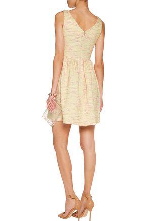 RAOUL Primrose floral-jacquard dress