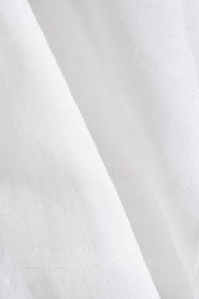 THEORY Coruna ramie midi dress