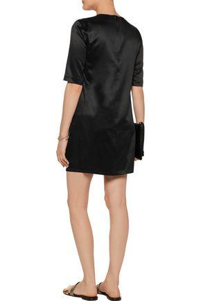 EQUIPMENT Jules washed-silk mini dress