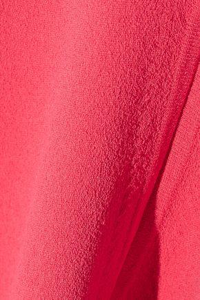 AUTUMN CASHMERE Stretch-knit mini dress