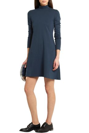 TITLE A Stretch-cotton jersey mini dress