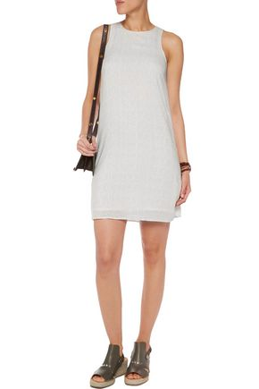 JAMES PERSE Printed voile mini dress