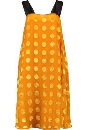 ROCHAS Devoré-chiffon dress