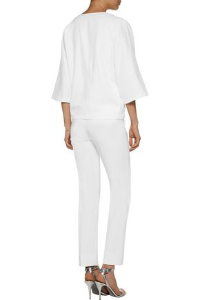 RAOUL Embroidered jacquard top