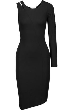 KAIN Copa asymmetric strech-modal dress