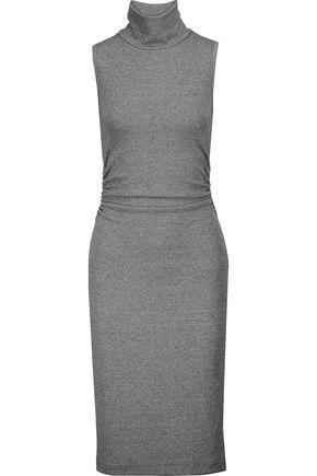 KAIN LABEL Ray ribbed stretch-modal turtleneck dress