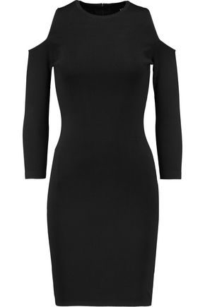 LINE Clarke cutout stretch-knit mini dress