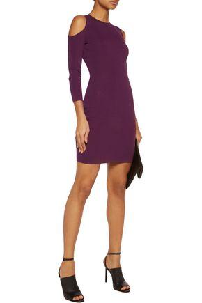 LINE Clarke cutout stretch-knit mini dress