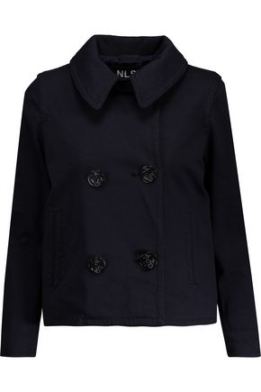 NLST Double-breasted cotton jacket