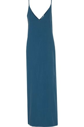 EQUIPMENT Racquel washed-silk midi dress