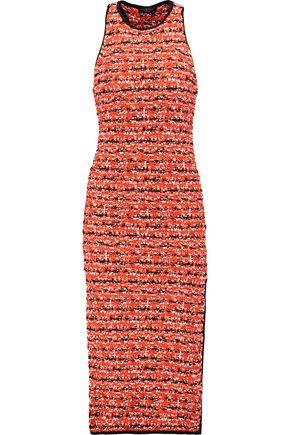RAG & BONE Viola cotton and wool-blend midi dress