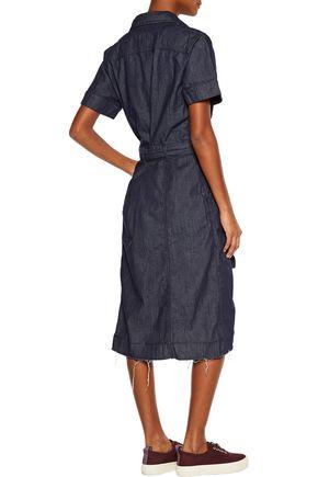 CURRENT/ELLIOTT The Jackie belted denim dress