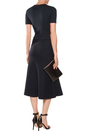 IRIS AND INK Tilda Milano-knit wool midi dress