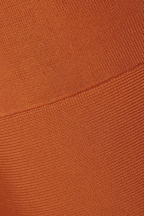 IRIS & INK Cutout stretch-knit maxi dress
