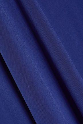 NORMA KAMALI One-shoulder stretch-jersey mini dress