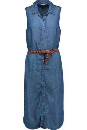SPLENDID Belted denim dress
