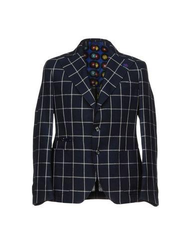 Фото - Мужской пиджак JAKKE темно-синего цвета