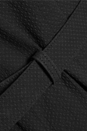 RICK OWENS Plain Dagger textured-crepe maxi dress