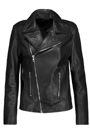 RTA Morisson fringed leather biker jacket