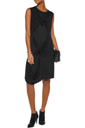 MARQUES ALMEIDA Knotted stretch-jersey dress
