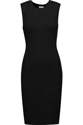 VINCE. Ribbed wool-blend dress