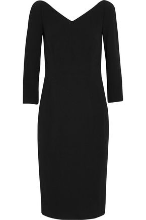 DOLCE & GABBANA Off-the-shoulder stretch-crepe dress