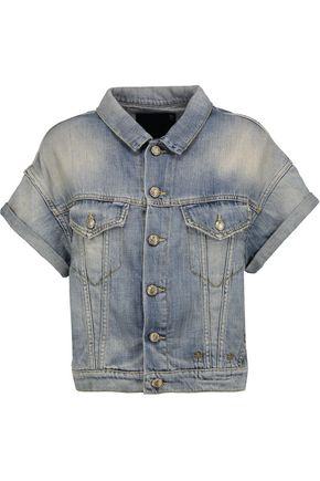 R13 Faded denim jacket
