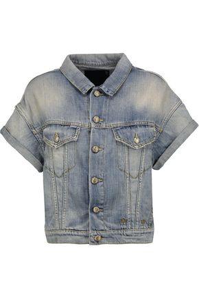 R13 Faded denim jacket