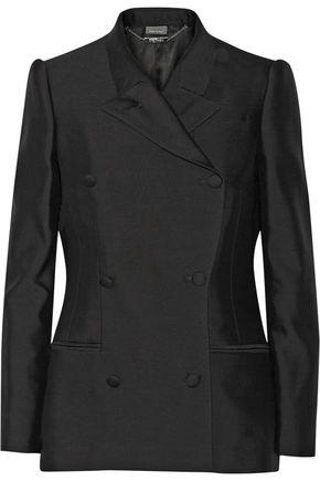 ALEXANDER MCQUEEN Wool and silk-blend twill blazer
