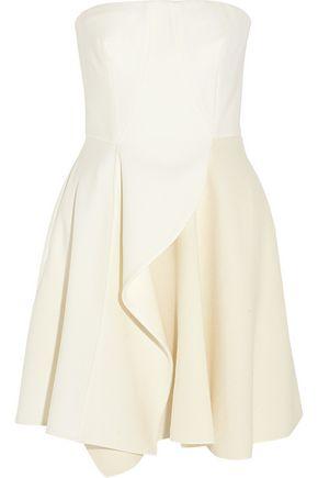 STELLA McCARTNEY Marcy wool-blend crepe mini dress