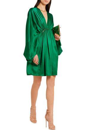 STELLA McCARTNEY Elitta draped satin mini dress