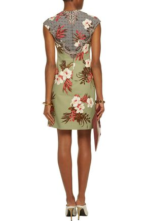 ETRO Printed cotton dress