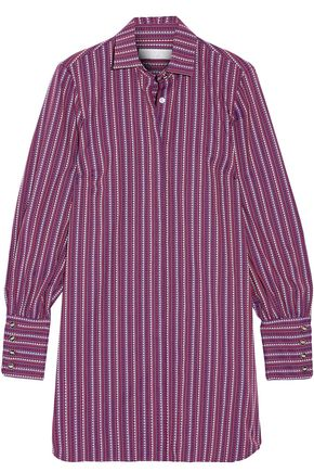 CAROLINE CONSTAS Boyfriend cotton-jacquard shirt dress