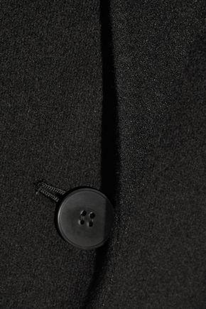 DKNY Bonded wool-blend gilet