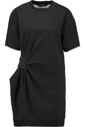 MARC BY MARC JACOBS Gathered cotton-jersey mini dress