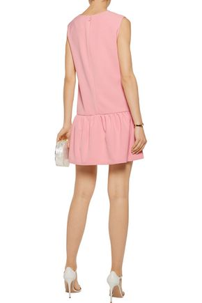 RAOUL Ryana stretch-crepe ruffled mini dress