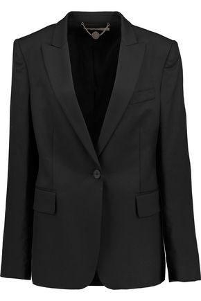 STELLA McCARTNEY Iris wool-twill blazer