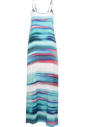 VIX Julia printed crepe dress