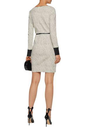 BAILEY 44 Cotton-blend bouclé dress