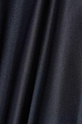 HELMUT LANG Draped silk-satin dress