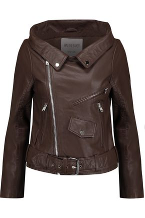 W118 by WALTER BAKER Vanessa leather biker jacket