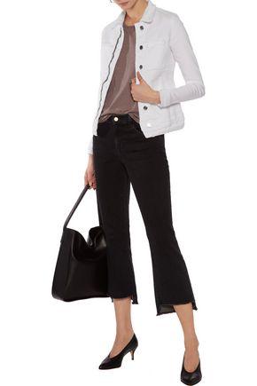 RTA Rene zip-embellished denim jacket